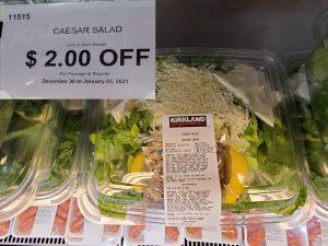 kirkland caesar salad