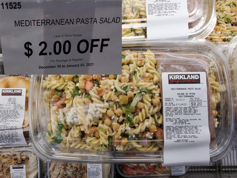 mediteranian pasta salad