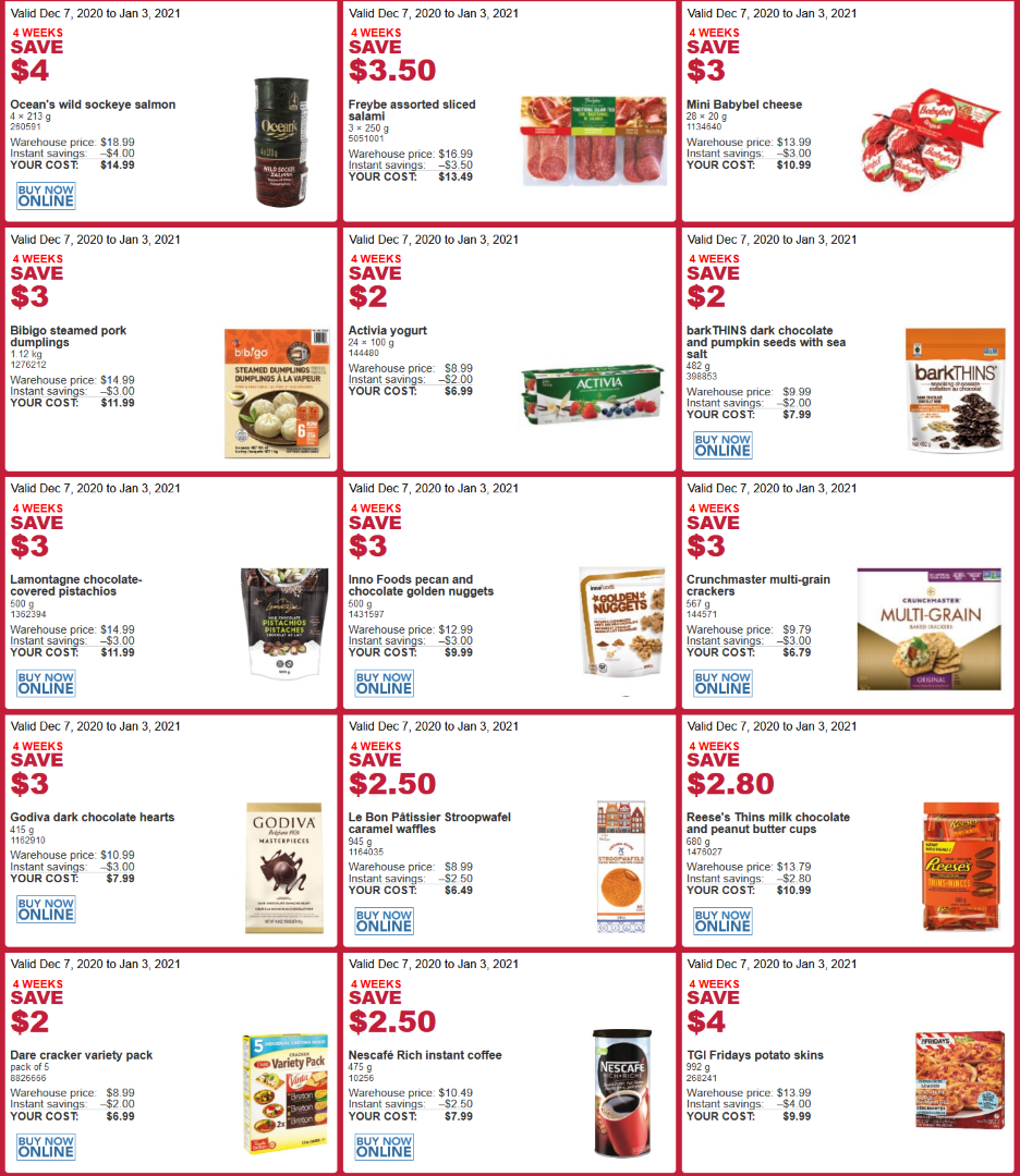 Costco dec flyer sales