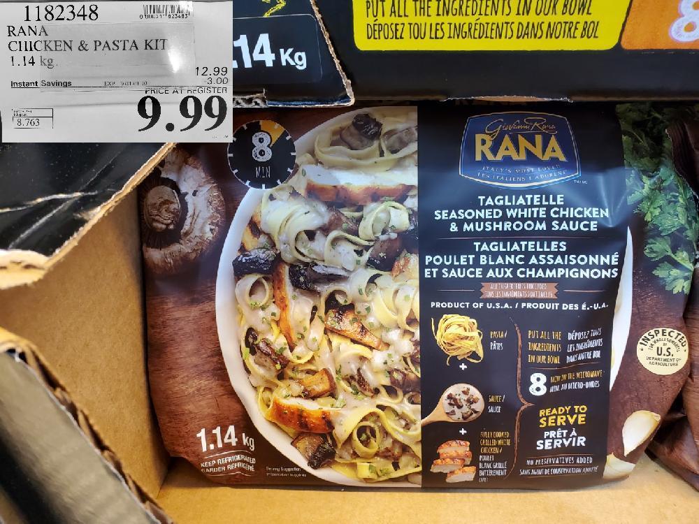 costco sales 182343 RANA CHICKEN