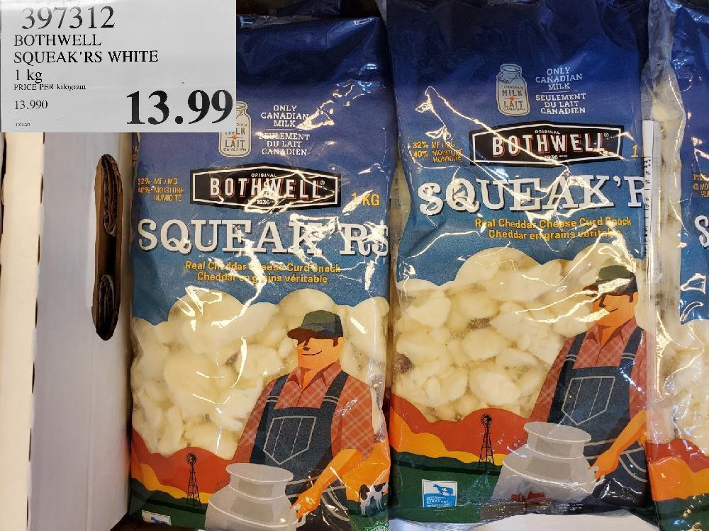 397312 BOTHWELL SQUEAK'RS WHITE $13.99