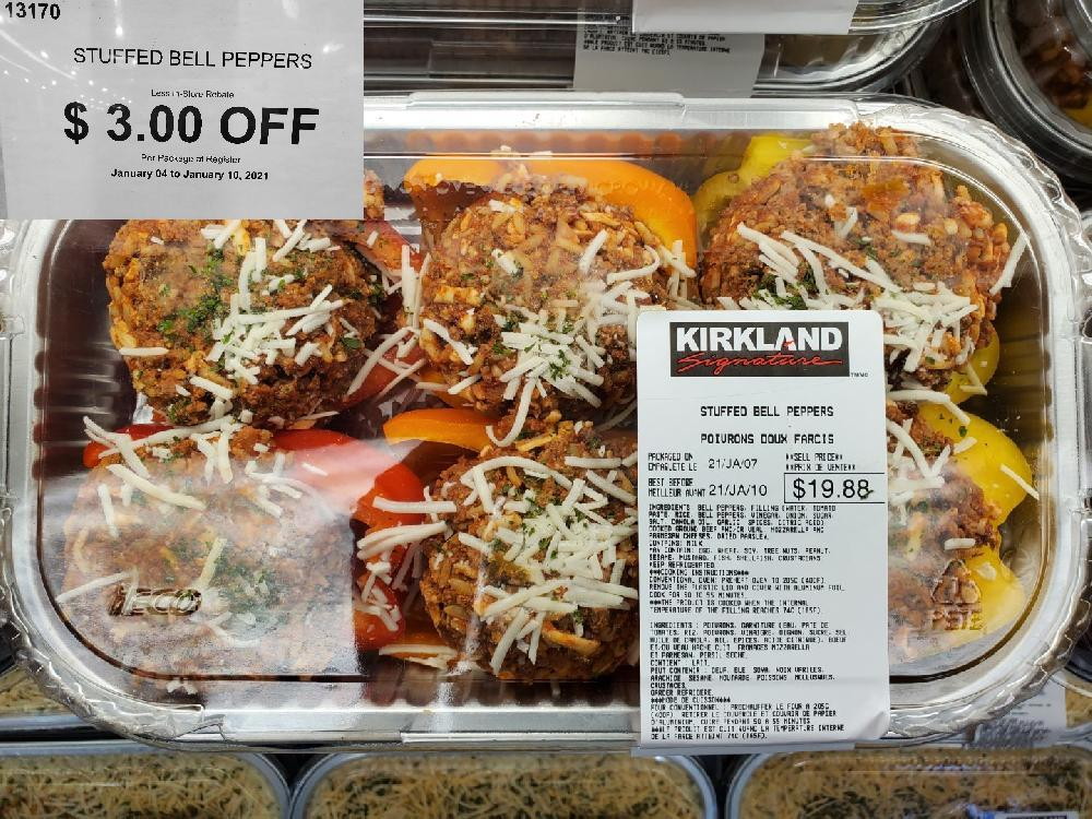 13170 STUFFED BELL PEPPERS January 04 to January 10 2021 $3.00 OFF
