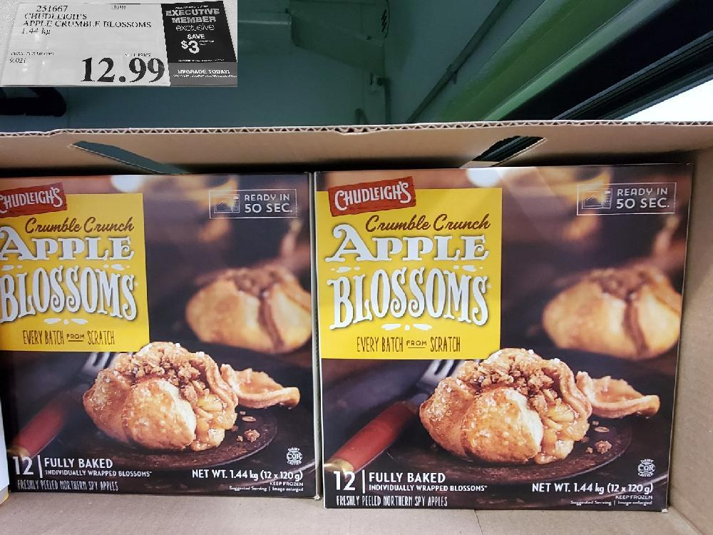 251667 CHUDLEIGH'S APPLE CRUMBLE BLOSSOMS 1.44 kg $12.99