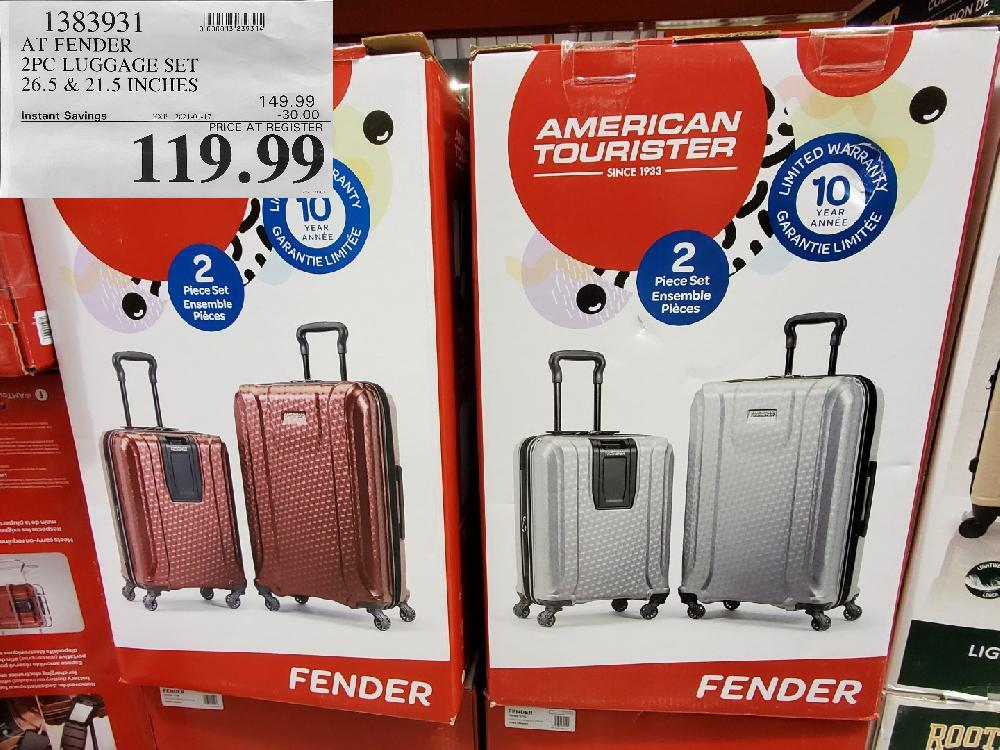 1383931 AT FENDER 2PC LUGGAGE SET EXPIRY DATE: 2021-01-17 $119.99