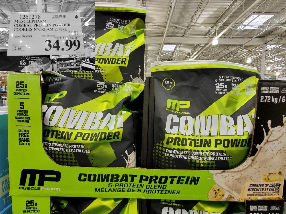1261278 MUSCLEPHARM ~ COMBAT PRO] IN POWDER COOKIES 'N' CREAM EXPIRY DATE: 2021-01-17 $34.99