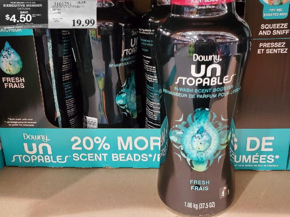 3161251 DOWNY UNSTOPABLES FRESH VALID JANUARY 4 TO 17 2021 $19.99