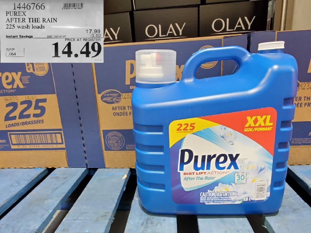 1446766 PUREX AFTER THE RAIN 225 wash loads EXPIRY DATE: 2021-01-17 $14.49