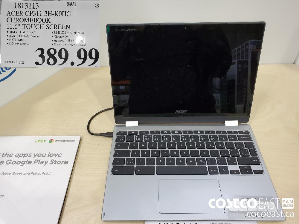 """1813113 ACER CP311-3H-KOHG CHROMEBOOK 11.6"""" TOUCH SCREEN $389 99"""