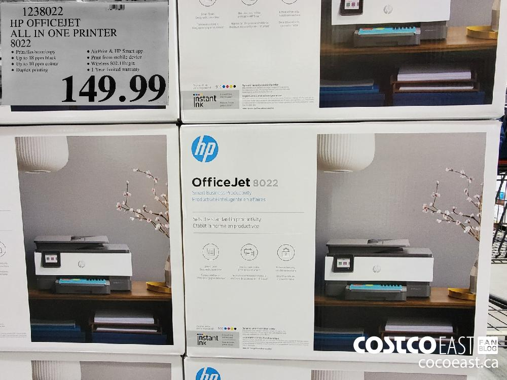 1238022 HP OFFICEJET ALL IN ONE PRINTER $149.99