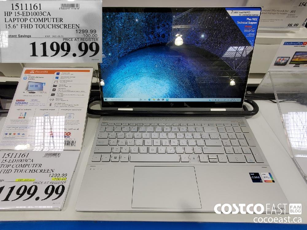 I511161 HP 15-ED1003CA LAPTOP COMPUTER 15.6° FHD TOUCHSCREED EXPIRY DATE: 2021-01-31 $1199.99