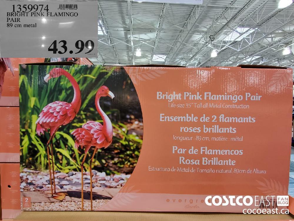 13599074 BRIGHT PINK FLAMINGO PAIR 89 cm metal $43.99