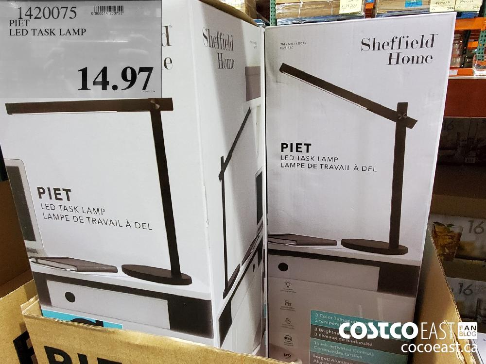 1420075 PIET LED TASK LAMP $14.97