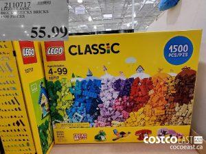 9110717 LEGO CLASSICBRICK PRICKS BRICKS1500 PIECES$55.99