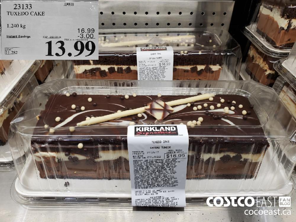 23133 TUXEDO CAKE 1.240 kg EXPIRY DATE: 2021-01-24$13.99