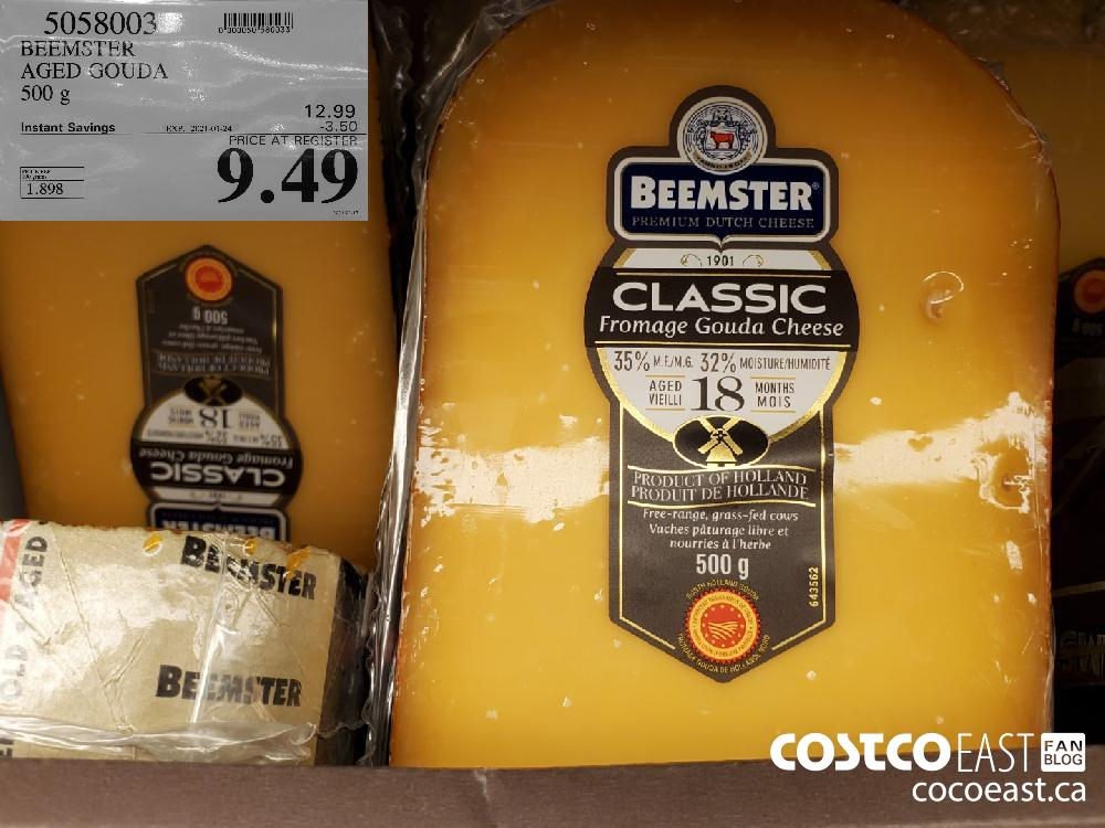 5058003 BEEMSTER AGED GOUDA 500g EXPIRY DATE: 2021-01-24 $9.49