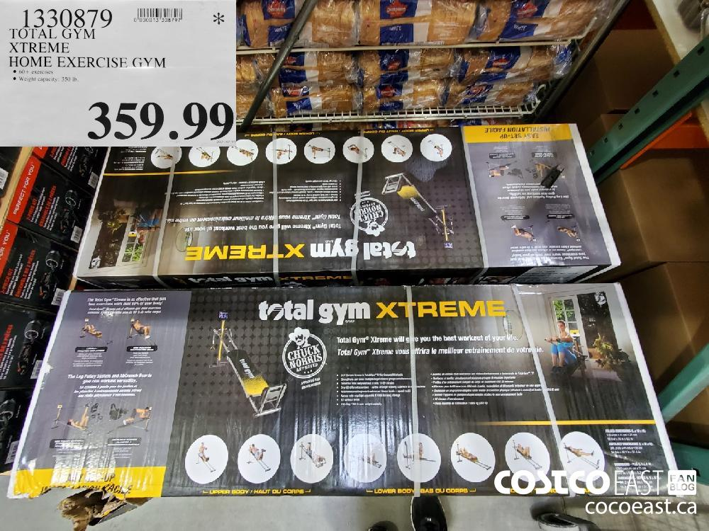 1330879 TOTAL GYM XTREME HOME EXCERCISE GYM $359. 99