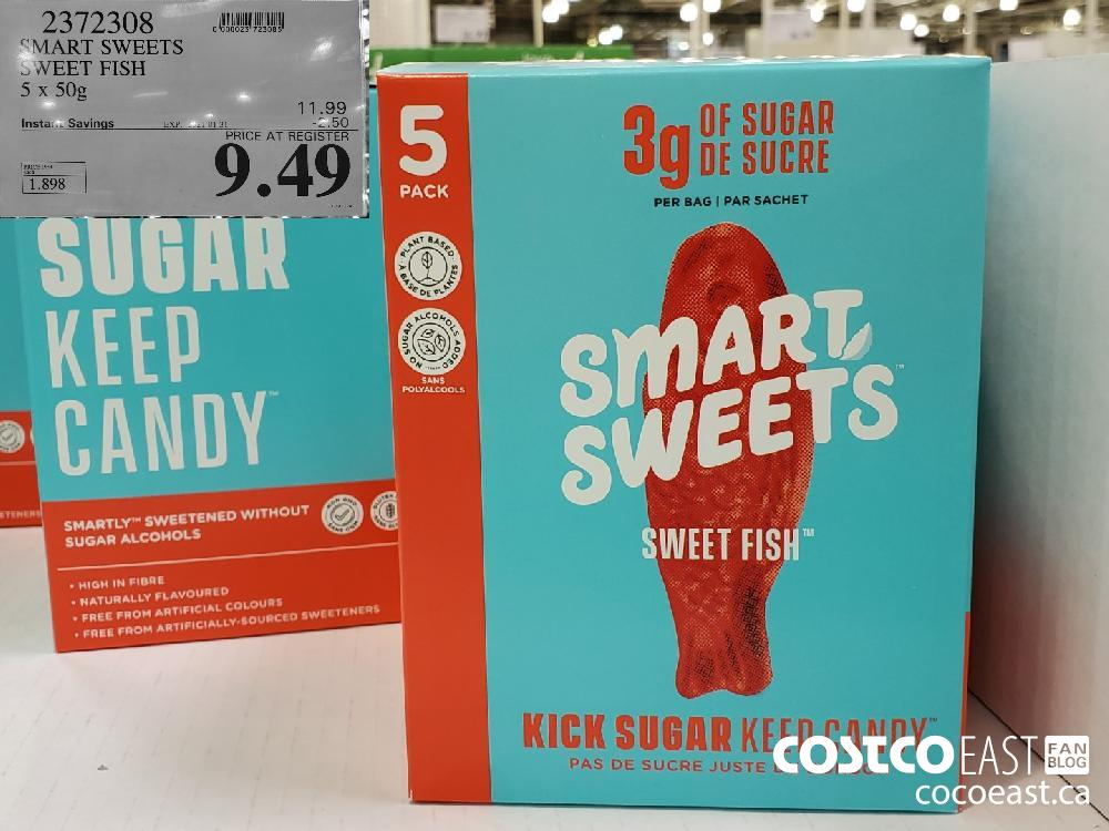 2372308 SMART SWEETS SWEET FISH 5 x 50g EXPIRY DATE: ~ 2021-01-31 $9.49