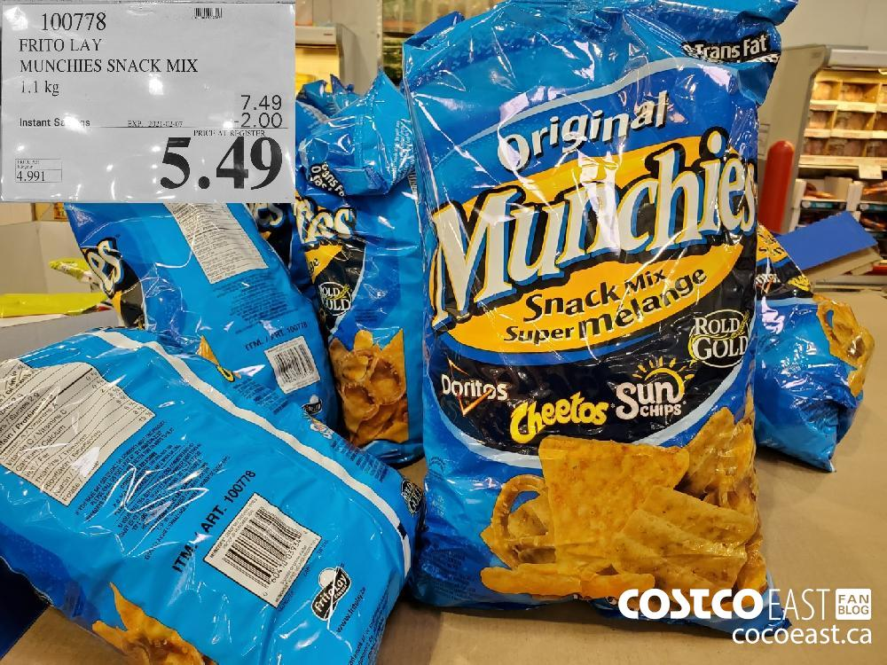 100778 FRITO LAY MUNCHIES SNACK MIX EXPIRY DATE: 2021-02-07 $5.49