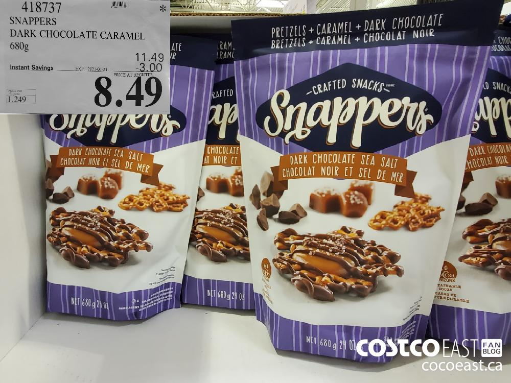 418737 SNAPPERS DARK CHOCOLATE CARAMEL 680g EXPIRY DATE: 2021-01-31 $8.49