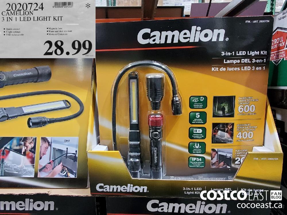 4020724 CAMELION 3 IN   LED LIGHT KIT $28.99