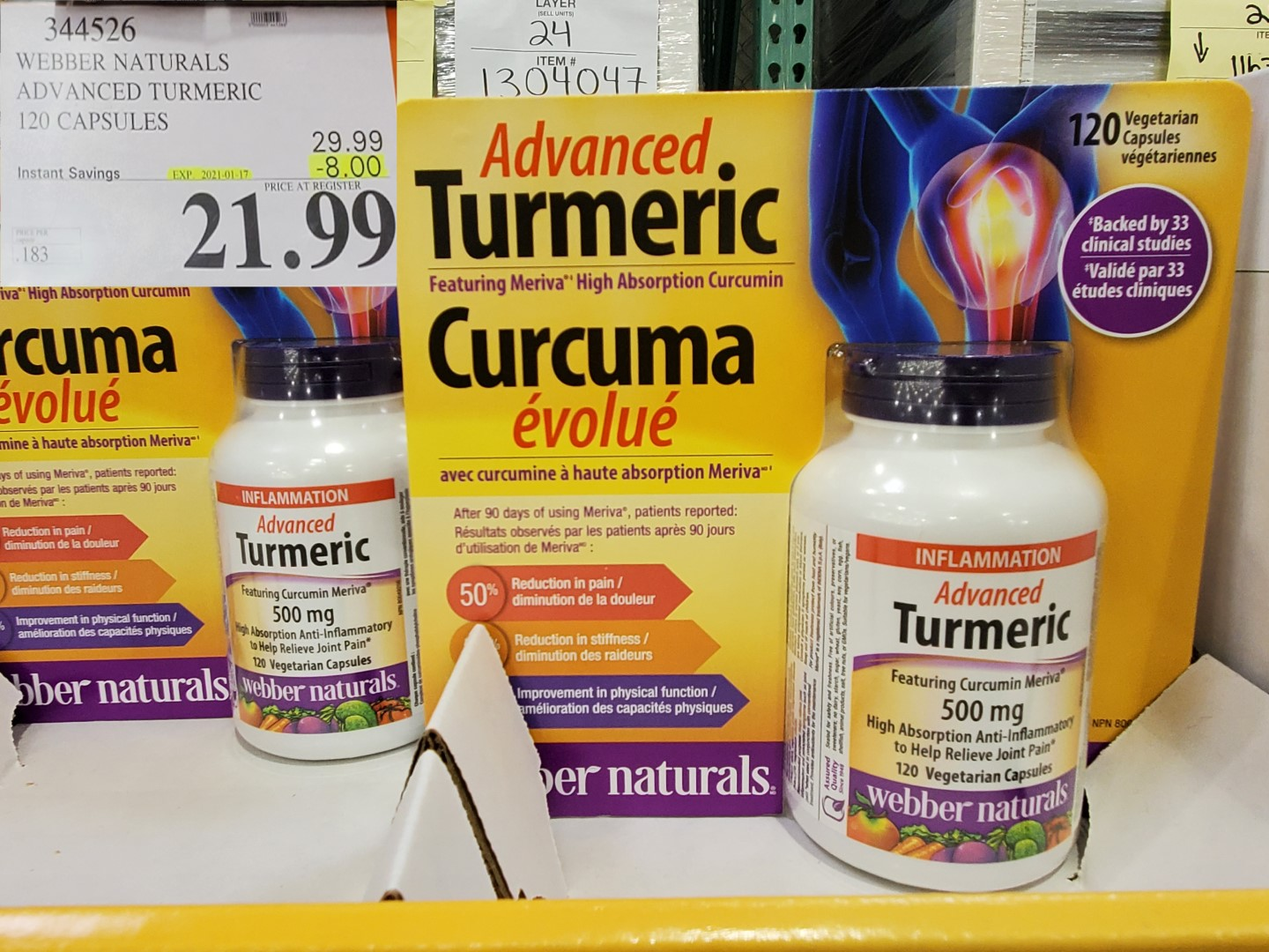 Costco Sale advanced turmeric