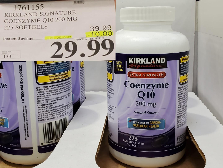 Costco Sale coenzyme q10