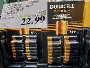Saleduracell optimum