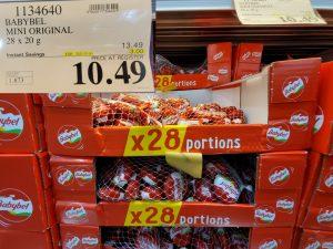 Costco Sale baby bel portions