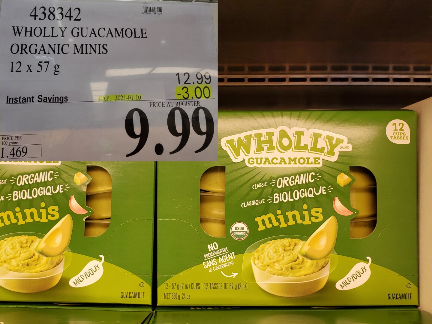 Costco Sale wholly guacamole