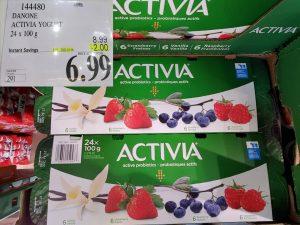 Costco Sale activia yogurt