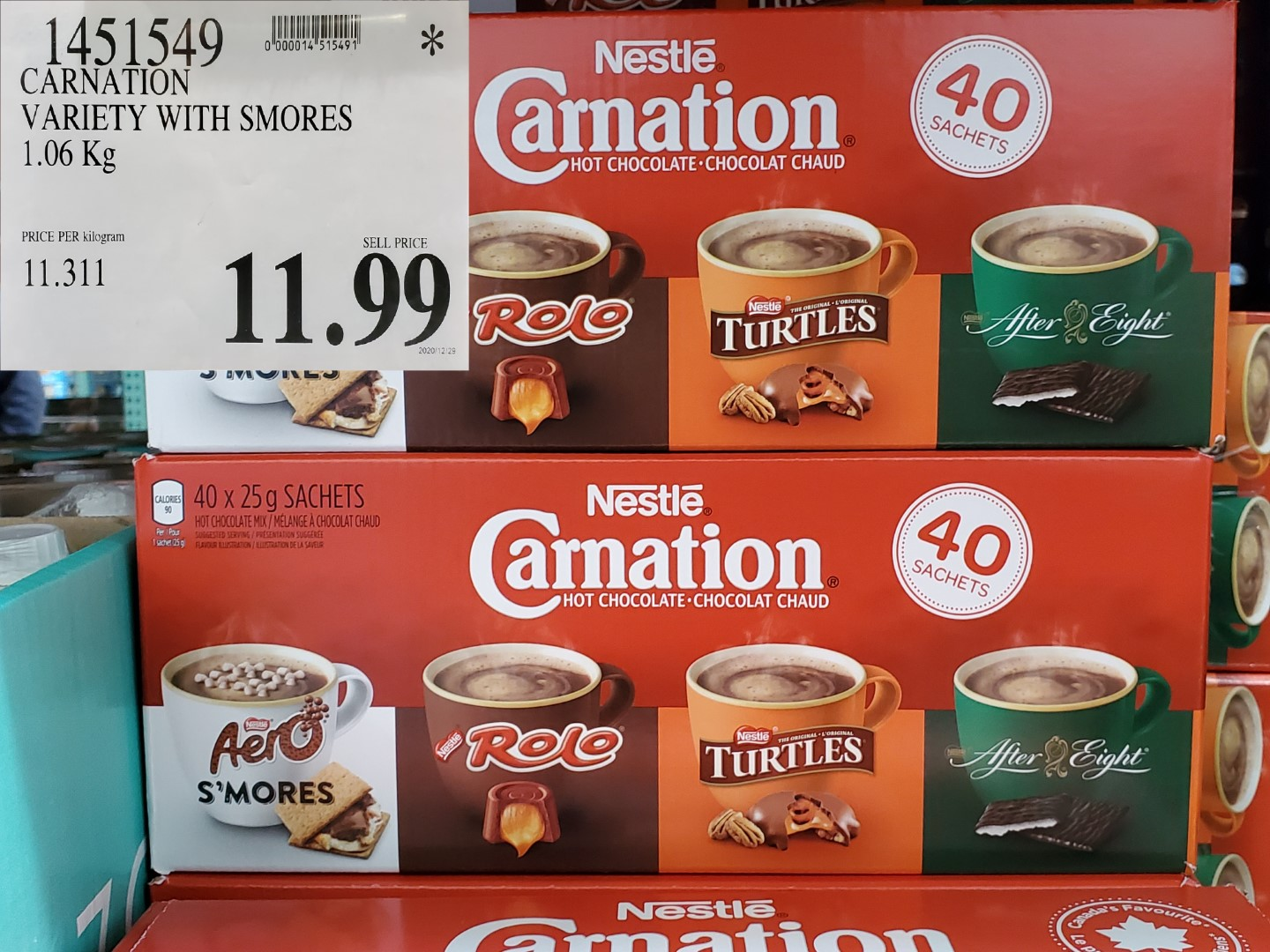 Costco Sale nestle carnation hot chocolate