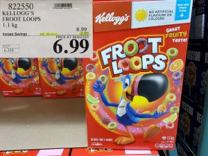 Costco Sale kellogg's fruit loops