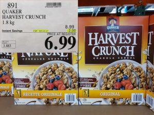 Costco Sale harvest crunch