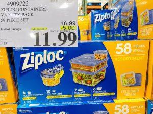 Costco Sale ziploc container set
