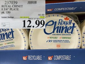 Costco Sale royal chinet paper plates