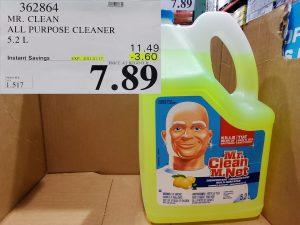 Costco Sale mr.clean disinfectant