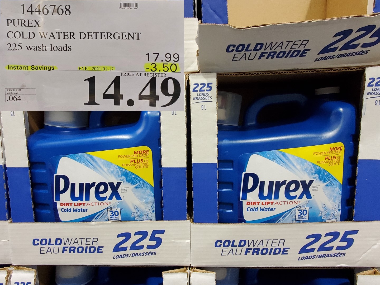 Costco Sale purex