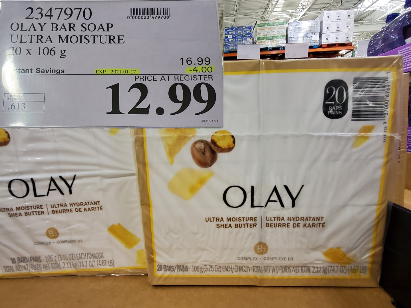 olay bar soap