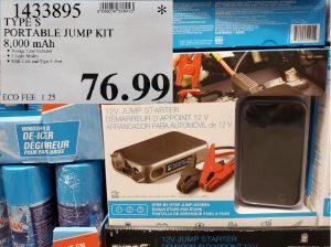 Type S portable jump kit