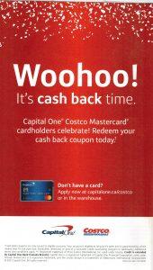 captial one mastercard cash back