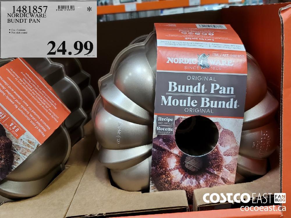 1481857 NORDICWARE BUNDT PAN $24.99