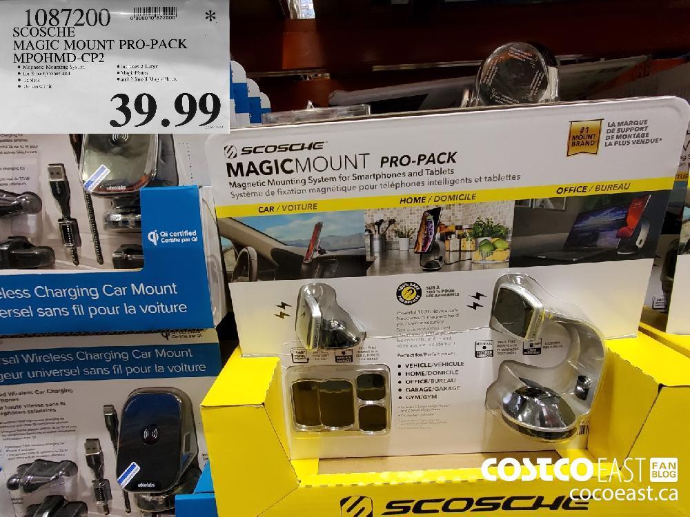 1087200 SCOSCHE MAGIC MOUNT PRO-PACK MPOHMD-CP2 $39.99