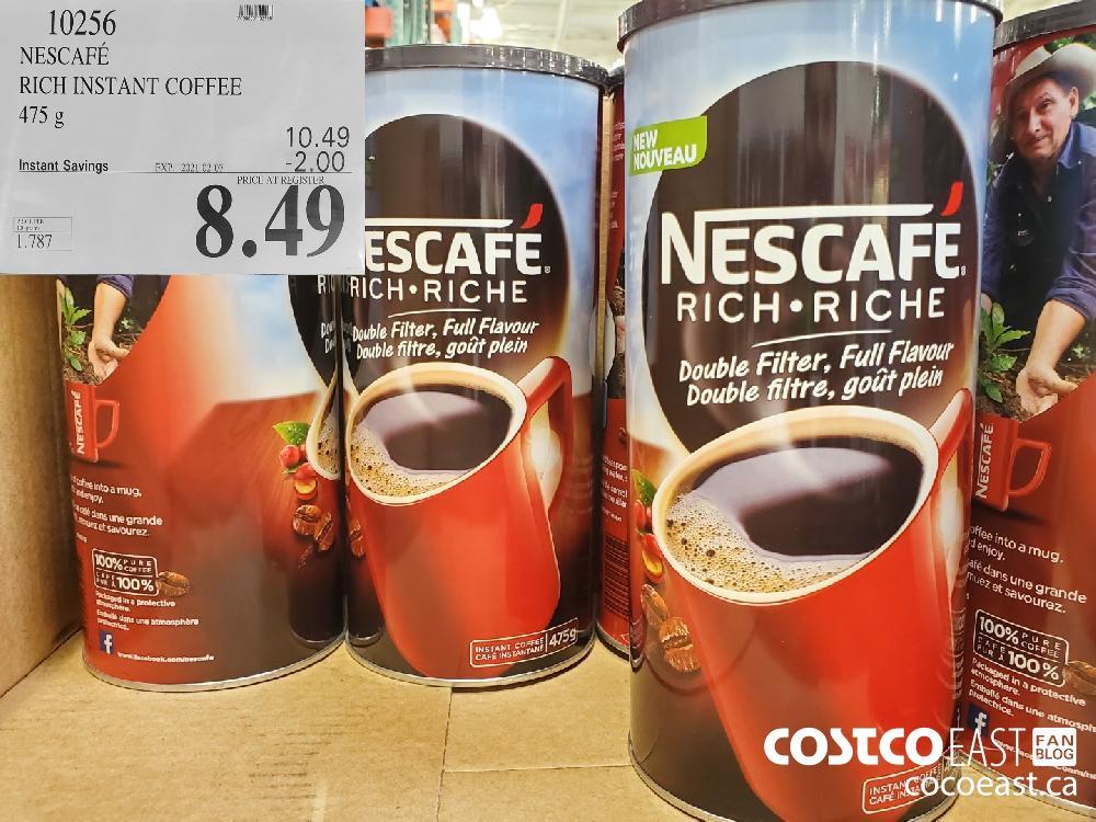 10256 NESCAFE RICH INSTANT COFFEE 475g EXPIRY DATE: 2021-02-07 $8.49