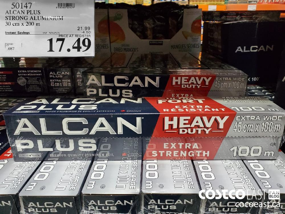 50147 ALCAN PLUS STRONG ALUMUNUM 30 cm x 200 m EXPIRY DATE: 2021-02-28 $17.49