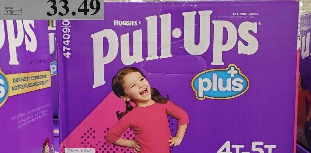 1126126 HUGGIES PULL-UPS PLUSGIRLS 47 - 51PACK OF 102EXPIRY DATE: 2021-02-28$33.49