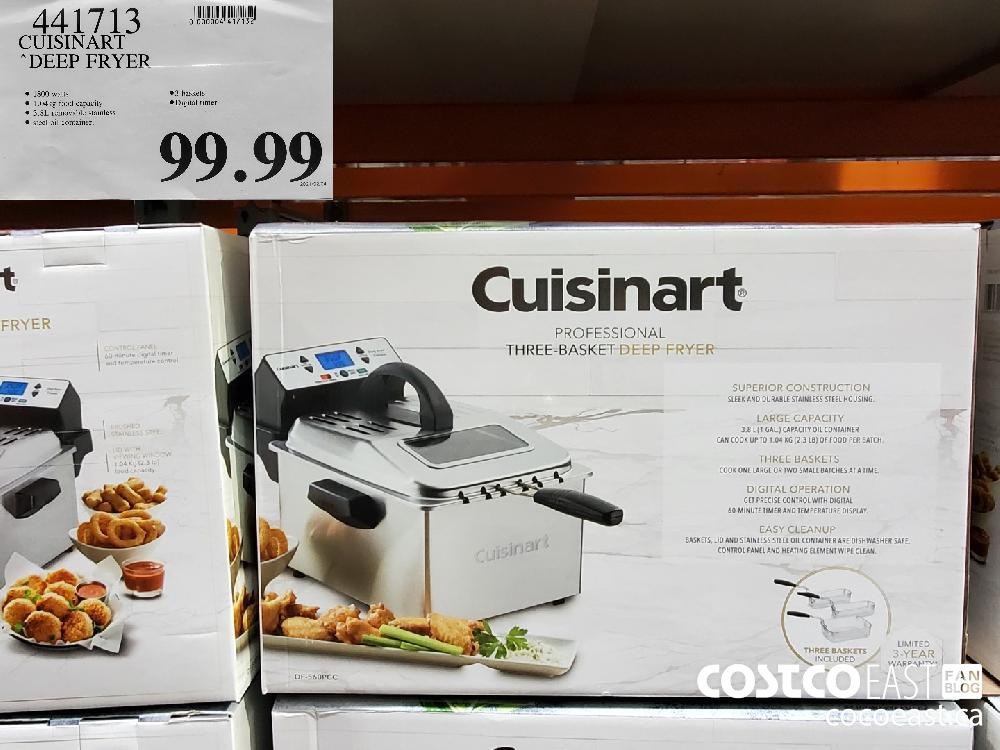 "441713 CUISINART ""DEEP FRYER $99.99"