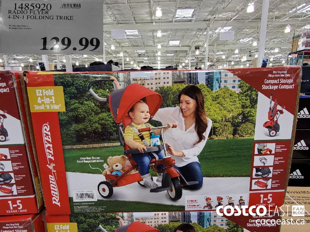 1485920 RADIO FLYER 4-IN-1 FOLDING TRIKE $129.99