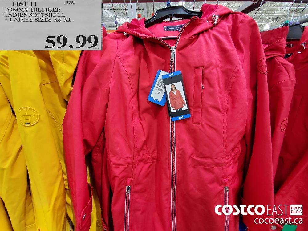 1460111 TOMMY HILFIGER . LADIES SOFTSHELL LADIES SIZES XS-XL $59.99