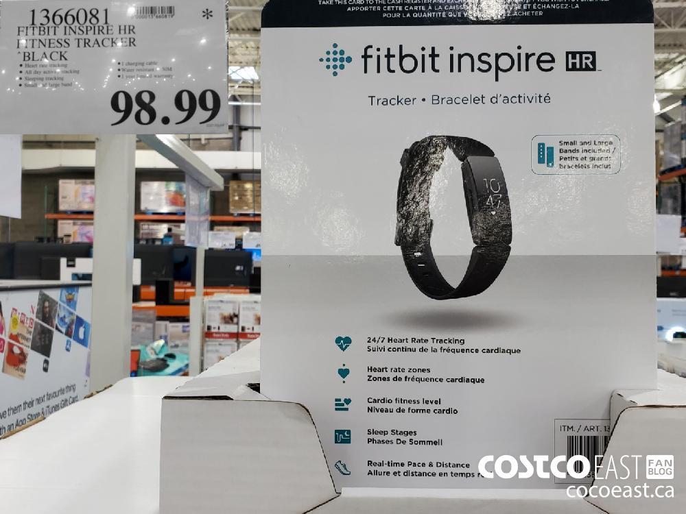 1366081 FITBIT INSPIRE HR | FITNESS TRACKER 'BLACK $98.99