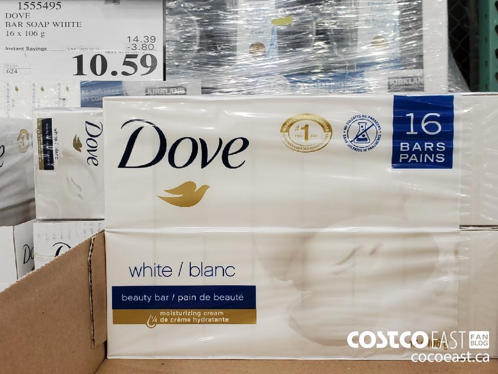 1555495 DOVE BAR SOAP WHITE 16 x 106 g EXPIRY DATE: 2021-02-14 $10.59